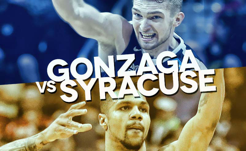 NCAA Tourney Game of the Night: Gonzaga vs. Syracuse March 25, 2016